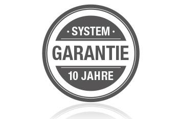 10 Jahre System-Garantie zum Download