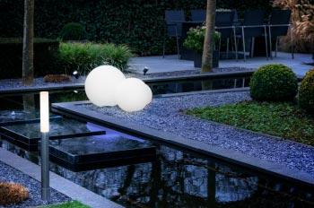 Gartenbeleuchtung - Innovatives Beleuchtungssystem