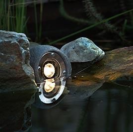 Beleuchtung für Garten und Wege