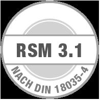 Prüfsiegel RSM 3.1