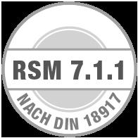 Prüfsiegel RSM 7.1.1