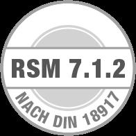 Prüfsiegel RSM 7.1.2