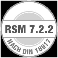 Prüfsiegel RSM 7.2.2