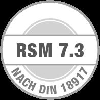 Prüfsiegel RSM 7.3