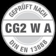 Prüfsiegel C G2 W A