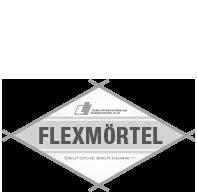 Prüfsiegel Flexmörtel