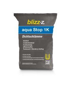 aqua stop 1K Dichtschlämme, diffusionsoffen, frost- und alterungsbeständig