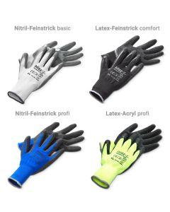 Handschuhpaket   allw vier Varianten