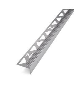 Gefälleprofil U Edelstahl V2A für 10 mm Glasstärke poliert - Ausrichtung links