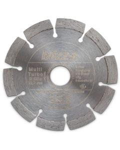 blizz-z Diamant-Trennscheibe Multi Turbo | für alle gängigen Baustellenmaterialien