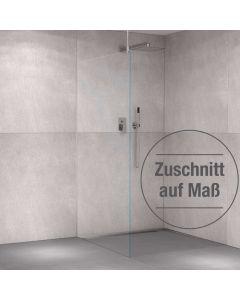 Glas-Duschabtrennung Weißglas auf Zuschnitt