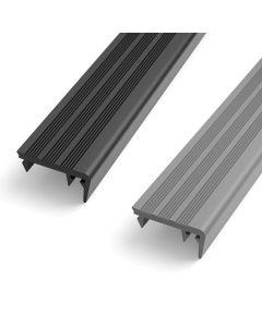 Einlageprofil für PROTECTO Sicherheits-Treppenprofil Aluminium