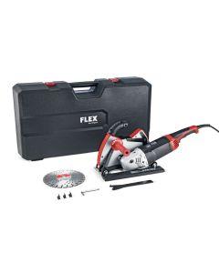 FLEX Winkelschleifer 2.600 W mit Winkelschleifer-Absaughaube und Führungsschlitten - Produktbild