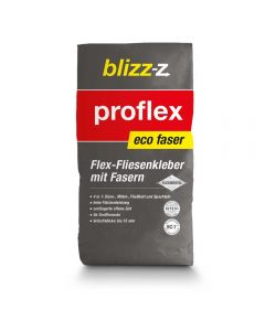 Fliesenkleber proflex eco faser - Hochergiebiger Flexkleber faserverstärkt