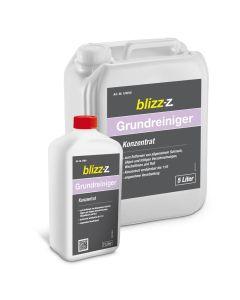 blizz-z Grundreiniger Konzentrat 1 und 5 Liter | für die Bauendreinigung