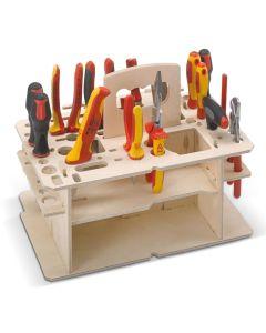 Holzeinsatz für Systemkoffer