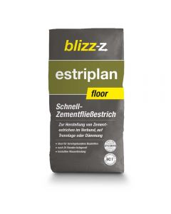 estriplan floor Schnell-Zementfließestrich