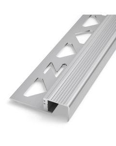 PROTECTO Sicherheits-Treppenstufenprofil Aluminium