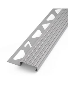 PROTECTO Sicherheits-Treppenstufenprofil Edelstahl V2A gebürstet