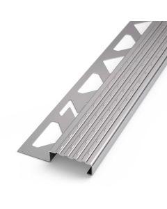 PROTECTO Sicherheits-Treppenstufenprofil Edelstahl V2A natur