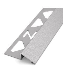 Übergangs- und Ausgleichsprofil Edelstahl V2A