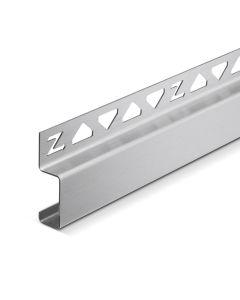 Deko-Line Wandanschlussprofil Edelstahl V2A poliert 990 mm